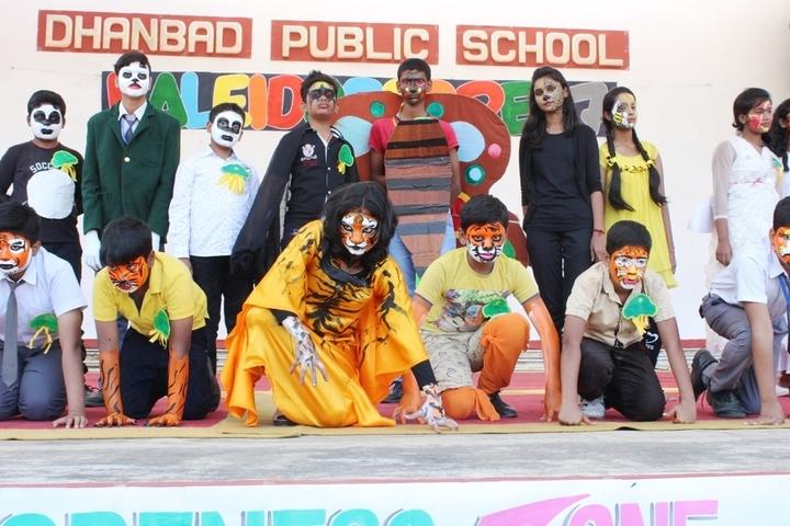 Dhanbad Public School-Dance