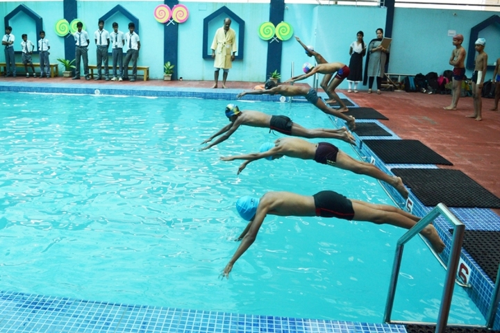 Dhanbad Public School-Swimming-Pool