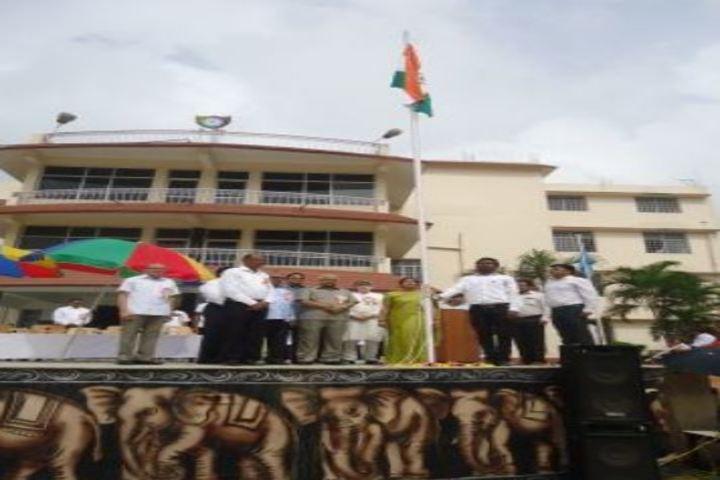 Dhanbad Public School-Flag-Hosting