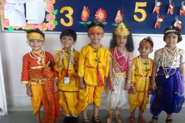 Dhanbad Public School-Janmasthami