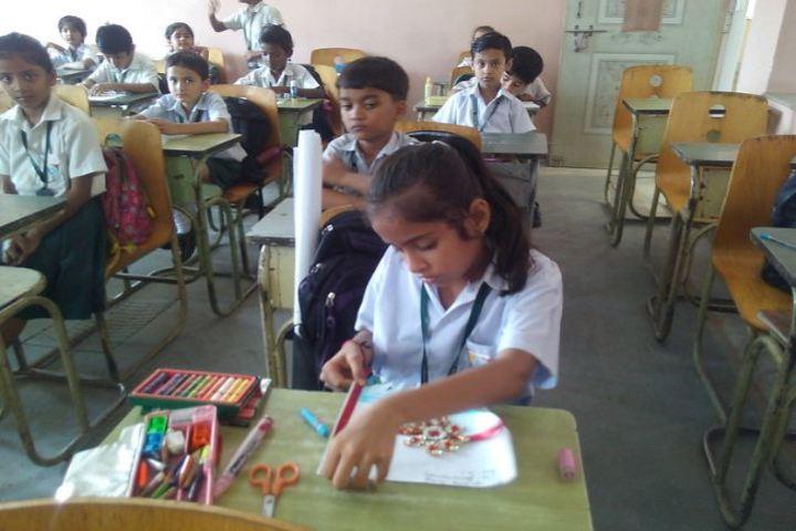 Dhanbad Public School-Rakhi-Making