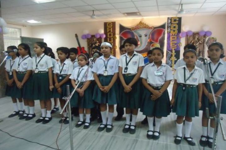 Dhanbad Public School-Singing-Competition