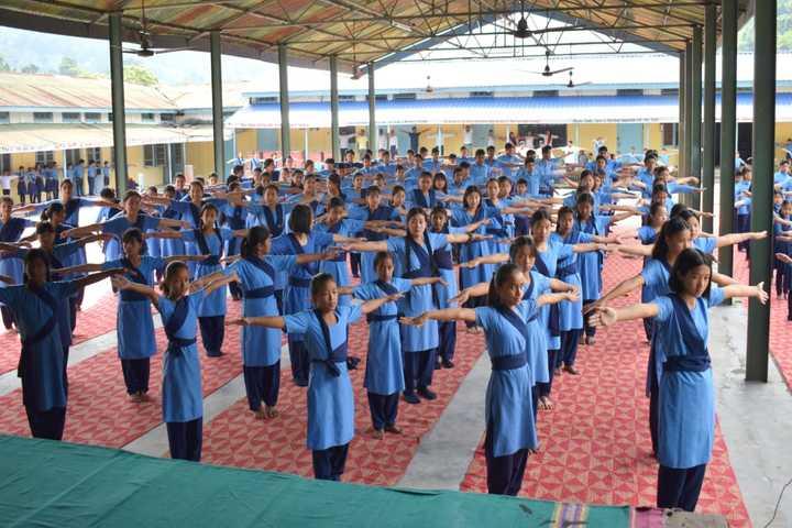 Vivekananda Kendra Vidyalaya-Yoga