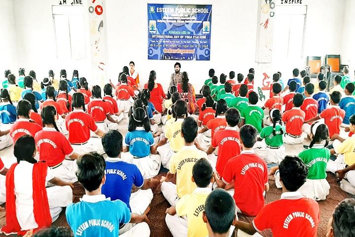 Esteem Public School - Yoga