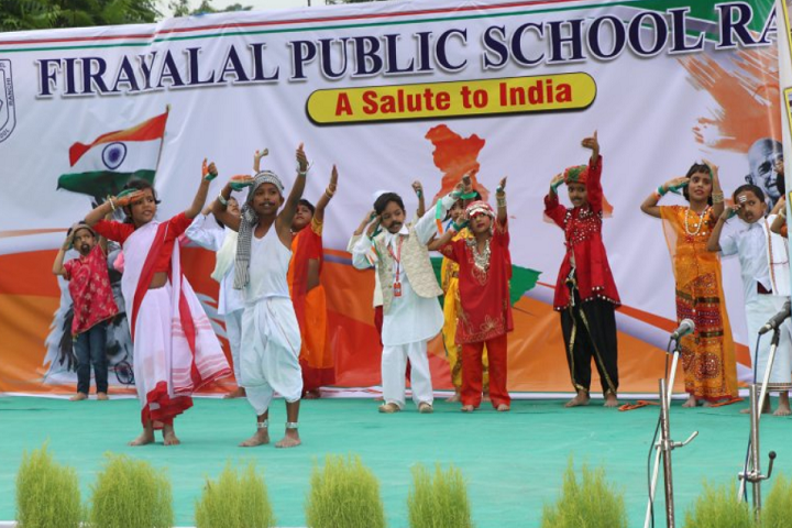 Firayalal Public School-Independence Day Celebrations