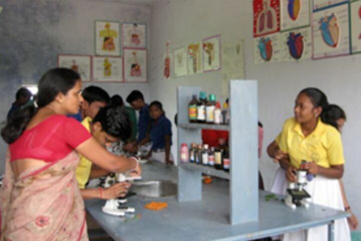 Gautam Buddha International School-Biology Lab