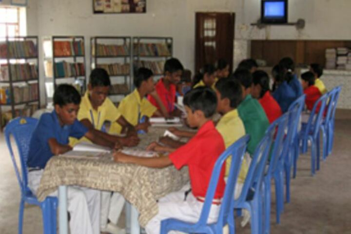 Gautam Buddha International School-Library