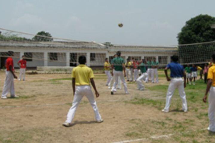 Gautam Buddha International School-Throw Ball