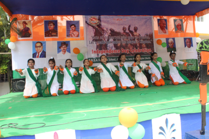 Geeta Devi Dav Public School-Independence Day Celebrations
