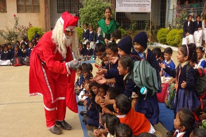 Govind Vidyalaya-Christmas Celebrations