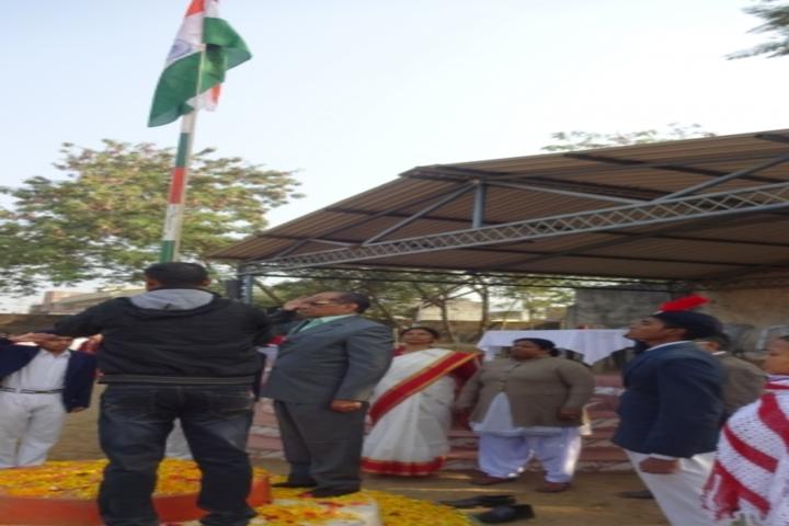 Govind Vidyalaya-Flag Hoisting