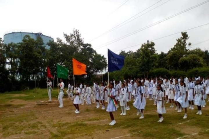 Govindram Kataruka School - March past