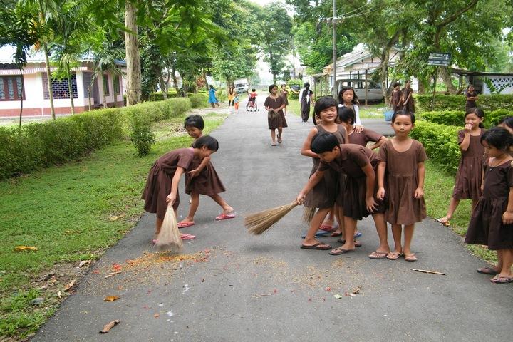 Vivekananda Kendra Vidyalaya-Swachatha Day