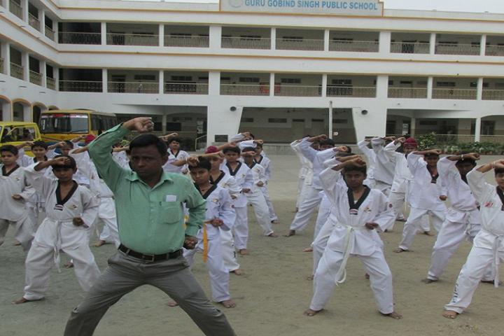 Guru Gobind Singh Public School-Karate