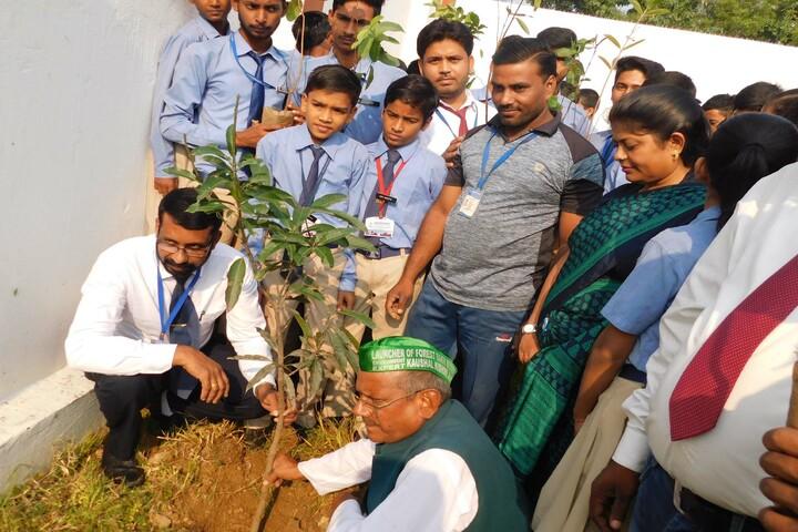 Heritage International School-Tree Plantation