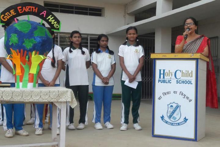 Holy Child Public School-Tree Earth Day Celebrations