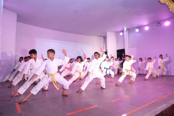 Holy Cross School-Karate
