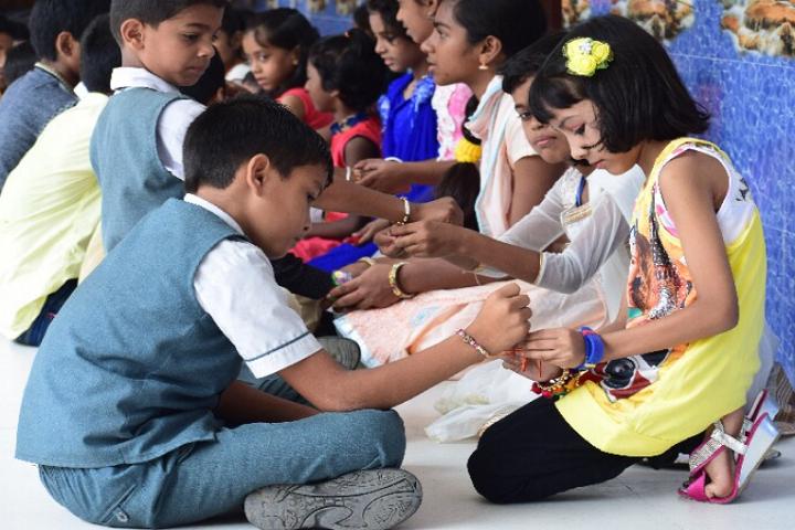 Holy Cross School-Rakhi Celebrations