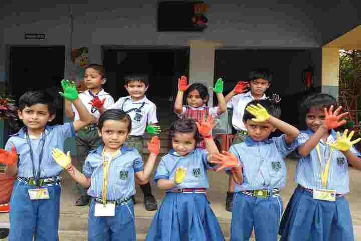Holy Mothers Academy-Holi Celebrations