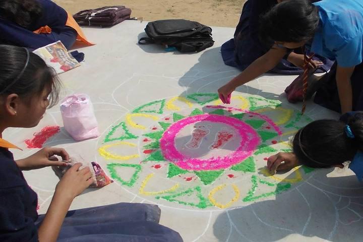 Imperial School Of Learning-Rangoli Activity