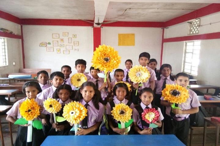 International Public School-Flower Making Activity
