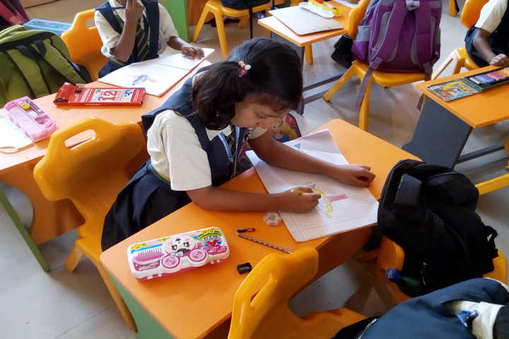 J K International School-Drawing Competition