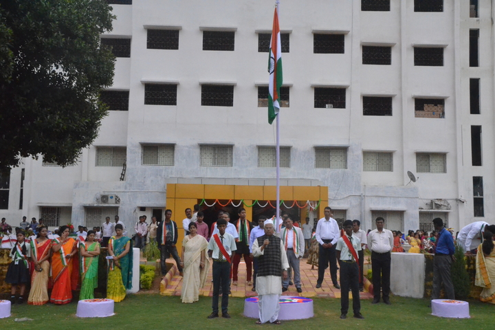 J K International School-Independence Day Celebrations