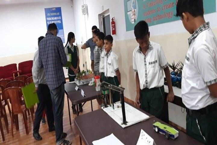 Jamshedpur Public School-Science Exhibition