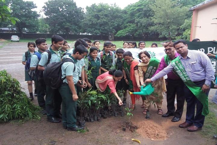 Jamshedpur Public School-Tree Plantation