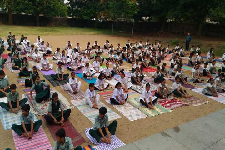 Jamshedpur Public School-Yoga