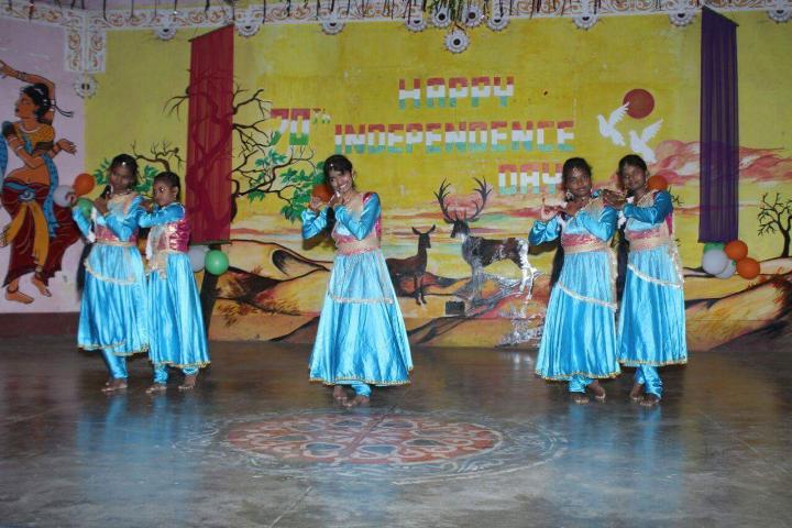 Jawahar Navodaya Vidyalaya - Independence Day Dancing Activity