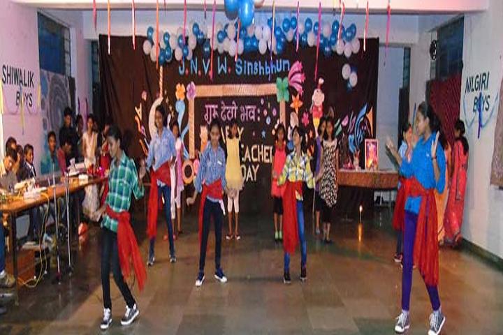 Jawahar Navodaya Vidyalaya-Dance Activity