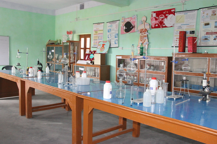 Jharkhand Public School-Chemistry Lab