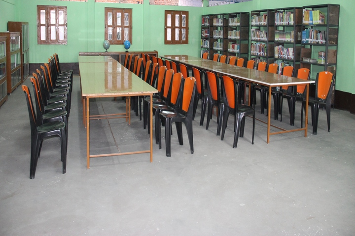 Jharkhand Public School-Library
