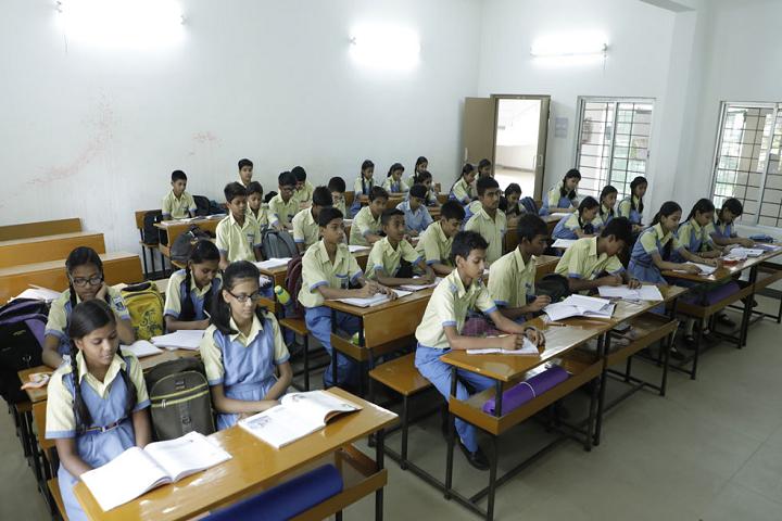 Kasidih High School-Classroom