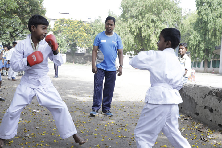 Kasidih High School-Karate