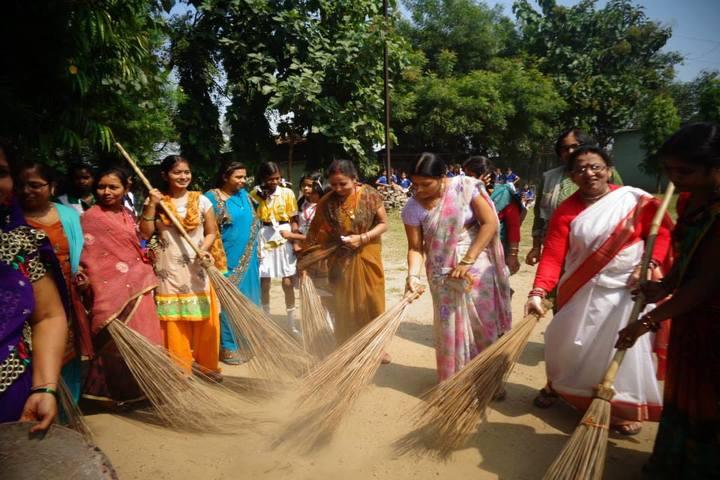 Kasturba Shree Vidya Niketan - Swachh Bharath