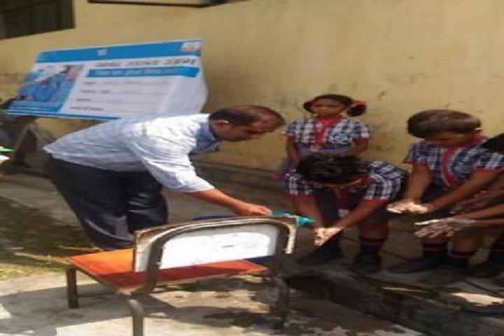 Kendriya Vidyalaya-Hand Wash