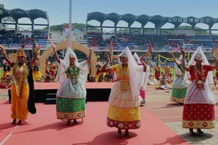 Kendriya Vidyalaya-Republic Day Celebration