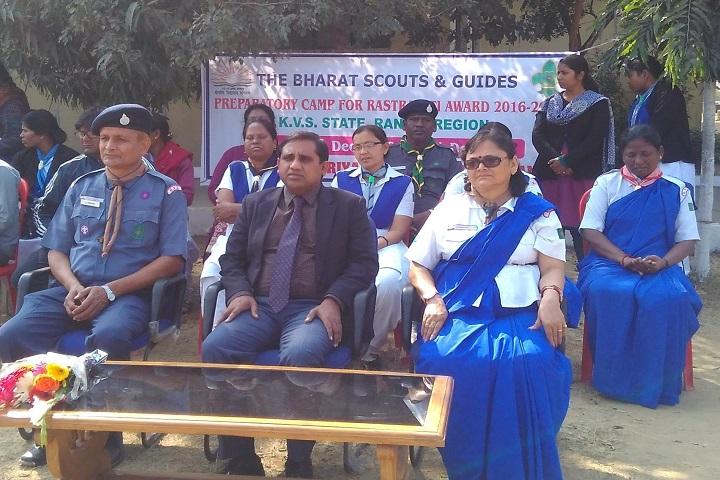 Kendriya Vidyalaya-Scouts And Guides Event
