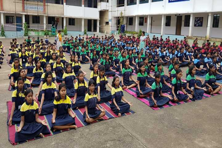 Kerala Public School-International Yoga Day