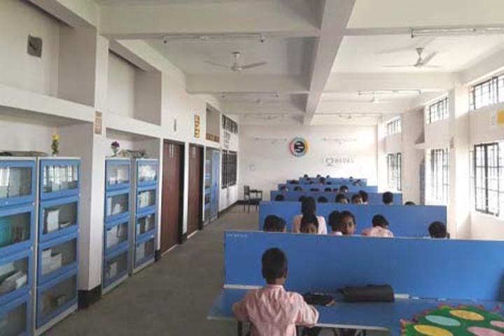 Adarsha Vidyalaya-Library