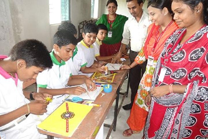Koncept Public School-Rakhi Making Competition