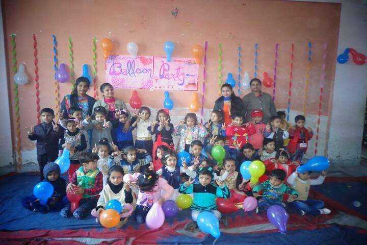 Lord Krishna School-Balloan Party