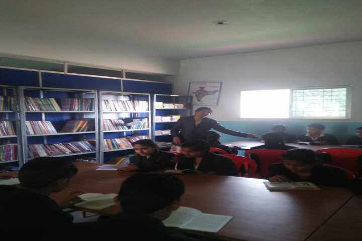 Lord Krishna School-Library
