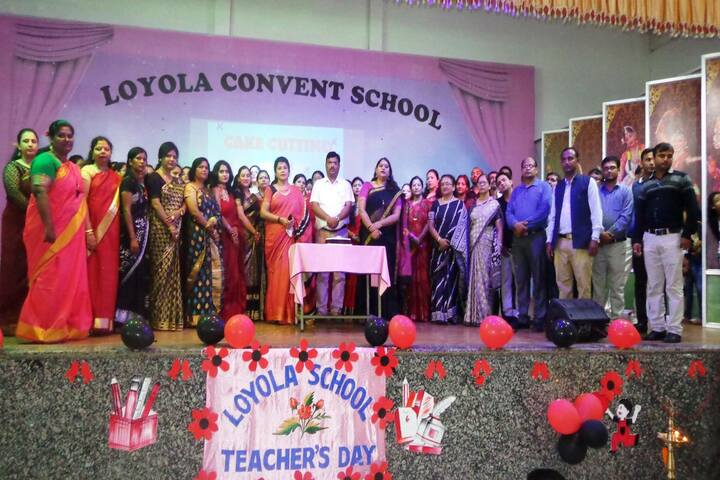 Loyola Convent School-Teachers Day Celebrations