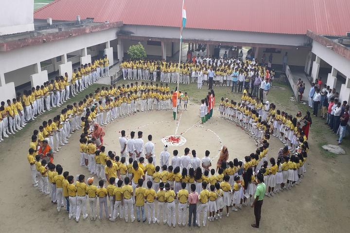 Adarsh Vidyalaya-National Festival Celebrations