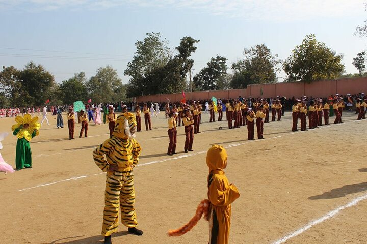 M K Dav Public School-Fancy Dress Competition