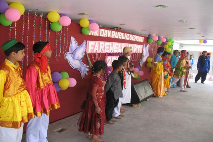 M K Dav Public School-Farewell
