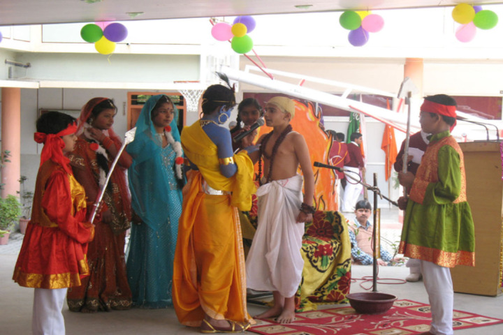 M K Dav Public School-Independence Day
